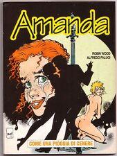 Amanda Anno 1 numero 8  Come una pioggia di cenere   ( Eura Editoriale )