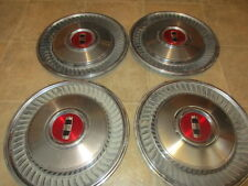 """1979-80-81-1982 FORD LTD 14"""" HUBCAPS / SET OF FOUR"""