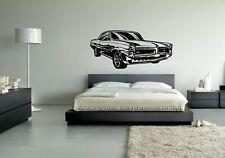 Wall Sticker Mural Decal Vinyl Decor Race Car Muscle Sport Car Auto