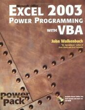 Excel 2003 Power Programming with VBA (Excel Power Programming With Vba)