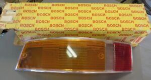 NOS 69-72 Porsche 911 Driver Side Bosch Euro Rear Taillight Lens w/ Silver Trim