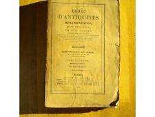 COURS D'ANTIQUITES MONUMENTALES DE CAUMONT OUEST FRANCE GALLO ROMAINE ATLAS 1831