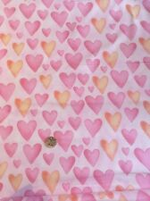 Hearts Party Animals 100-193 Pink Fabri-quilt 100% Cotton Quilting Craft fabric