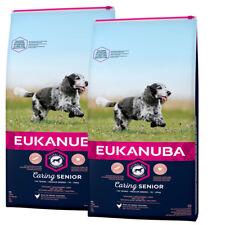 EUKANUBA 2 x 15 kg Mature Senior Medium cibo per cani per anziani cani medi
