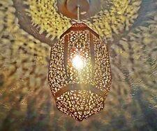Copper Moroccan Chic Ornate Chandelier Pendant Light Shabby Lamp Shade Lantern