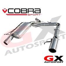 BM64 cobra Sport BMW serie 3 320D E92 Coupe 07-11 Doble Caja Trasera De Salida De Escape