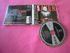 JPN w/Obi  - Slayer ‎– Stain Of Mind + 4 Live Tracks _ SRCS 8772
