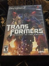 Transformers Revenge of the Fallen Sony PlayStation 2