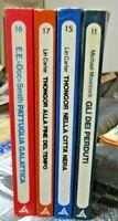 Lote 4 Novelas Delta Ciencia Ficción Fantasía Eroica - Ediciones Sugarco 1974
