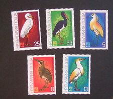 Bulgaria 1981 Birds SG2903/4 Egret Stork Bittern Heron  MNH UM unmounted mint