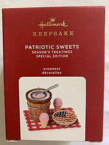 NEW 2020 Patriotic Sweets 4th Of July Season's Treating Series Keepsake Ornament