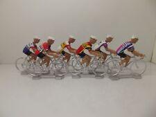 Joop Zoetemelk cycling figurines set miniature Ti Raleigh Coop Gitane