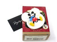 Hallmark Keepsake Disney Mickey's Snow Angel 1997 Mickey & Co Christmas Ornament