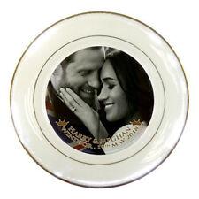 Prince Harry and Meghan Markle Royal Wedding Porcelain Plate #01