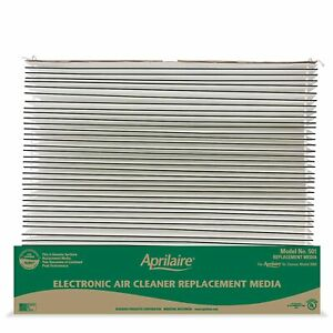Aprilaire 501 Replacement Filter for Aprilaire House Electronic Air Purifier