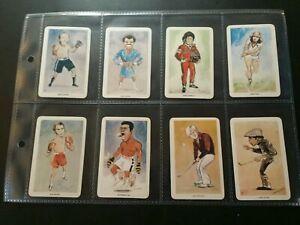 "1979 VENORLANDUS ""OUR HEROS"" (ALI/NICKLAUS/ANDRETTI/PELE/BORG)FULL-48 CARD SET"