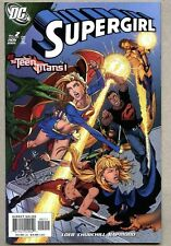 Supergirl #2-2005 nm- Ian Churchill cover Teen Titans