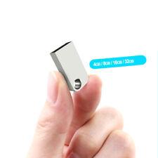 Mini USB 2.0 Flash Drive Pendrive USB Stick 32GB 16GB Metal Thumb PC lot
