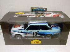 FIAT 131 ABARTH #10 ROHRL RALLY MONTE CARLO 1980 1/18 ALTAYA