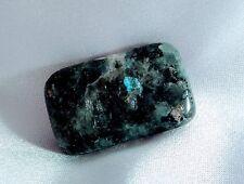 5 Healing stones Black Moonstone, Larvikite Tumbled polished
