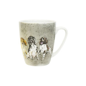 Queens Springer Spaniel Mug Fine China 400ml Oak Coffee Tea from Churchill China