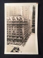 '28 Hotel Navarre 525 7th Ave Manhattan New York City Trolley Old NYC Photo T173