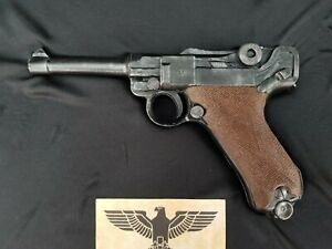 1:1 scale Solid resin(no moving parts) Luger P08 film prop.Painted or unpainted