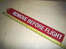 24 inch Remove Before Flight Streamer Military Spec, Plane Motorcycle Gift Tool