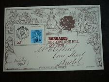 Stamps - Barbados - Scott# 494 - Souvenir Sheet