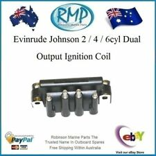 Evinrude Johnson 2 / 4 / 6cyl Dual Output Ignition Coil # 583740 Warranty