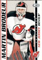 2003-04 Pacific Heads Up Hockey Card #58 Martin Brodeur - New Jersey Devils