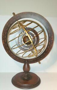 "🥰Antique Vintage sphere HUGE 22"" Old World Zodiac Globe - Wizard Astrology Map"