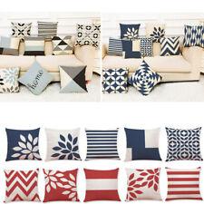 Home Case Geometric Cotton Waist Cover Sofa Throw Cushion Pillow Decor Latest