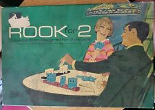 Vintage 1968 Rook for 2 Deluxe Edition Parker Brothers Card Game COMPLETE