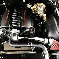 LS Swap Universal Cold Air Intake Black LSX LS1 LS2 - Black