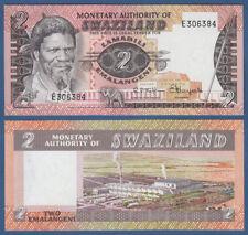 Suazilandia/Swaziland 2 emalangeni (1974) UNC p. 2