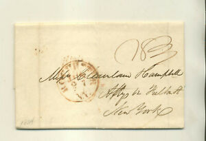1834 GEORGE BRACE ROCHESTER NY TO CLEVELAND & CAMPBELL ATTY'S NYC STMPLS LTR
