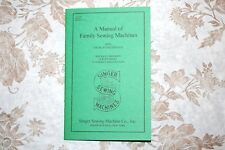 Complete Manual Singer Sewing Machines & Attachments: 15 66 99 127 128 221 301