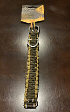 """New Browning Pet Products Survival Cord Outdoor Dog Collar Adjustable 10-16"""" S"""