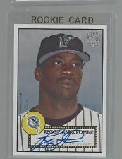 """2008 TOPPS  """"TOPPS 52"""" AUTOGRAPH ROOKIE CARD REGGIE ABERCROMBIE  NM/MT"""