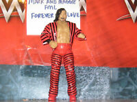 WWE MATTEL ELITE 63 NAKAMURA MINT LOOSE WITH EXTRA HANDS