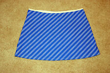 New Victorias Secret Blue & White Striped Skirt Coverup Sz M Medium
