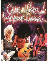 "GUNS N' ROSES Seymour Duncan UK magazine ADVERT / mini Poster 11x8"""