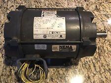 Us Electrical Motors 5Hp Motor D5P2B Model# R337 Frame 184T Volts 230/460 Ph 3