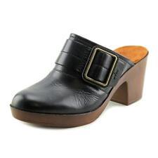 Zapatos planos de mujer de color principal negro de piel talla 38.5