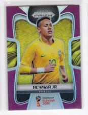 2018 Neymar Jr #/99 Panini Prizm Brazil Soccer Purple Refractor