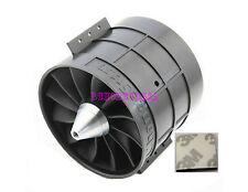 Electric EDF 120mm Ducted Fan 12 Blades 5052 kv500 motor Tested Balance +3M Tape
