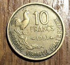PIECE DE 10 FRANCS GUIRAUD 1951 (91)