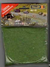 FALLER 170726 - GRASS FIBRE DARK GREEN - ERBA VERDE SCURO H0 + N 35g NUOVO