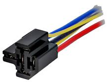 5 pcs. Kfz-Relaisfassung mit Kabel (20cm) Kfz-Relaissockel Reihe: FRC2 40A 5-Pin